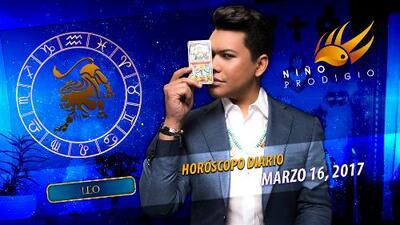Niño Prodigio - Leo 16 de marzo, 2017