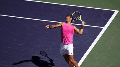 Nadal avanza a Semifinales del Indian Wells para enfrentar a Federer