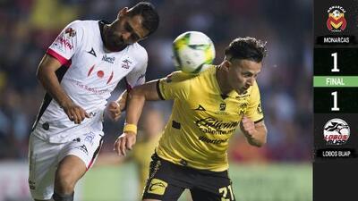 De la mano de Toño Rodríguez, Lobos sacó un empate en Morelia
