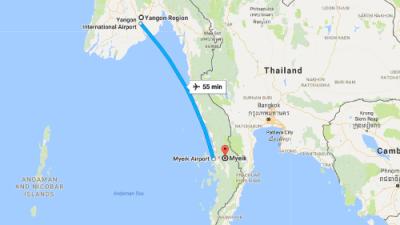 Desaparece un avión militar con más de 100 pasajeros en el sureste de Asia