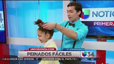 ¡Peinados para colegialas en un 2x3!