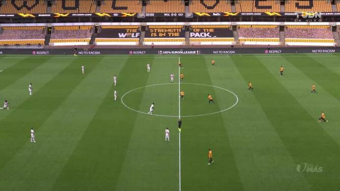 Highlights: Olympiakos at Wolves on August 6, 2020
