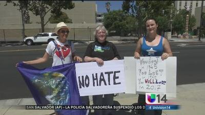 Manifestación en San José contra los crímenes de odio