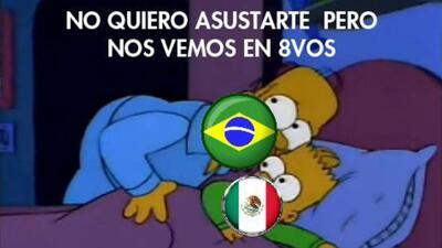 EN MEMES: Preparándonos para el México vs Brasil