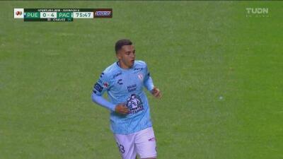 Gerardo Chávez fusila a Vikonis para el cuarto gol de los Tuzos