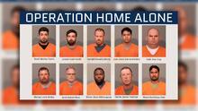 """Los rostros de presuntos """"depredadores de niños"""": operativo encubierto resulta en múltiples arrestos"""