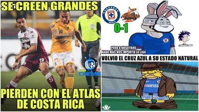 Memelogía: las caídas de Cruz Azul en Copa MX y Tigres en Concacaf dan para todo tipo de burlas