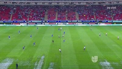Con cancha inundada inició el Chivas vs. Cruz Azul