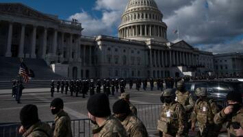 Una seguridad nunca antes vista: así está Washington, DC a dos días de la juramentación de Joe Biden