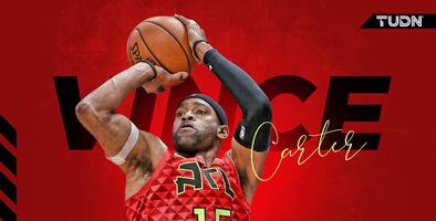 ¡Vince Carter, hombre récord en la NBA!