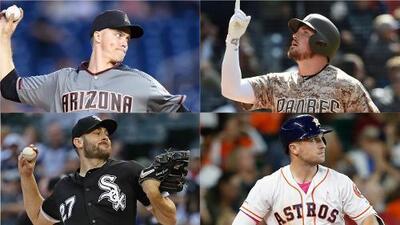 All Stars: Líderes de pitcheo y bateo en las Grandes Ligas