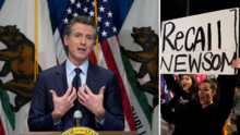 ¿Podrán destituir al gobernador de California Gavin Newsom?