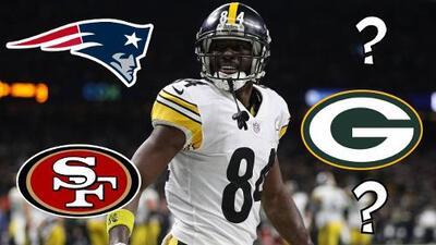 Los cinco equipos que deberían canjear por Antonio Brown