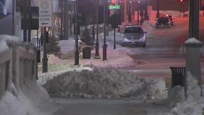 Advertencia por tormenta invernal que continuará hasta el jueves en Cook y otros condados de Illinois