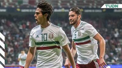 """JJ Macías: """"Feliz por mi primer gol y por debutar con México"""""""