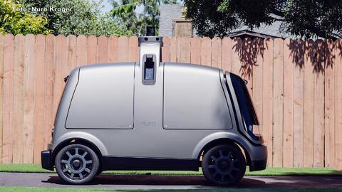 Vehículos robóticos te llevarán la despensa hasta la puerta de tu hogar