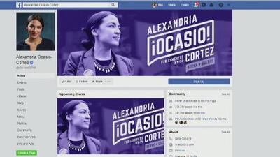 Alexandria Ocasio-Cortez se despide de Facebook y anuncia que cerró su cuenta personal