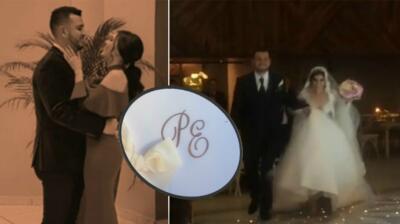 En fotos: la boda de Edén Muñoz de Calibre 50 ( y su esposa es una reina)