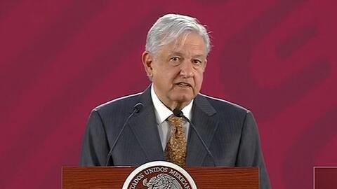AMLO responde a las críticas de Trump de que México no hace nada por detener la inmigración