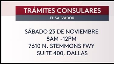 El Consulado del Salvador abre sus puertas a todos sus ciudadanos
