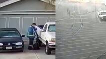 Revelan aterradoras imágenes del sospechoso del tiroteo en San José, California