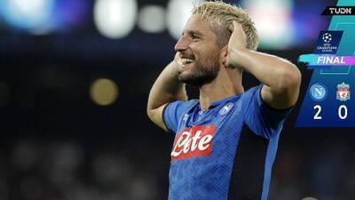 Napoli cobra revancha y vence al Liverpool en San Paolo
