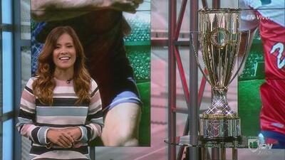 En UDN estuvo una invitada muy especial: la copa de la Liga de Campeones Concacaf