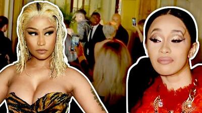 Cardi B y Nicki Minaj protagonizan escandalosa pelea en una fiesta del New York Fashion Week