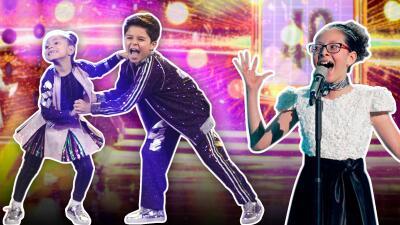 Ellos lograron coronarse con las mejores calificaciones del sexto show de Pequeños Gigantes