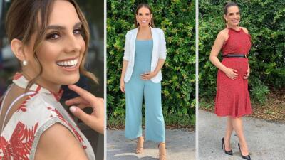 Andrea Chediak y sus primeros looks de embarazo: mira cómo ha crecido la pancita de la experta en moda