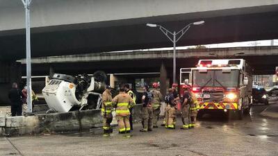 Accidente fatal con camión de 18 ruedas cobra la vida del conductor