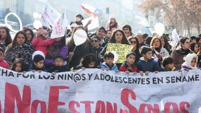 Abandono, muertes y tortura: Chile dice 'basta' a la situación de los niños a cargo del estado