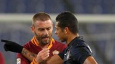 Roma empata sin goles ante Inter, Juventus podría ampliar su ventaja