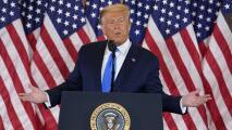En video: Tres datos engañosos de la noche electoral que dijo Trump