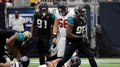 Jaguars sorprendió aplastando 29-7 a Texans