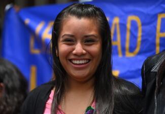 En fotos: la historia de Evelyn, la salvadoreña acusada de homicidio por parir un bebé muerto que finalmente fue absuelta