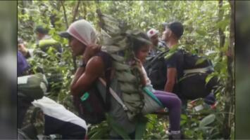 La travesía de un grupo de colombianos que cruzó la selva del Amazonas desde Perú para llegar a su país