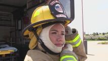 Ser mujer no fue un impedimento para alcanzar sus metas y convertirse en bombero