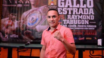 Juan Francisco 'Gallo' Estrada está listo para debutar en supermosca