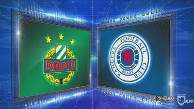 Rapid Wien 1-0 Rangers - GOL Y RESUMEN - Grupo G - UEFA Europa League
