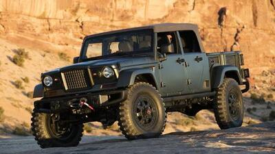 Jeep revivirá la pickup convertible en 2019