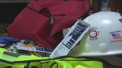 Este es el kit de seguridad que debes tener en caso de un terremoto