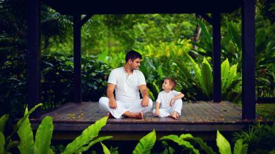 Cómo enseñar a tus hijos a meditar