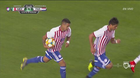 Gravísimo error de México y Derlis González pone el 2-3 en el marcador