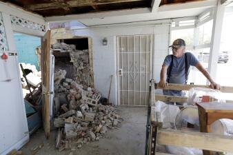 En fotos: Así luce Ridgecrest tras el terremoto de 7.1 que azotó el sur de California