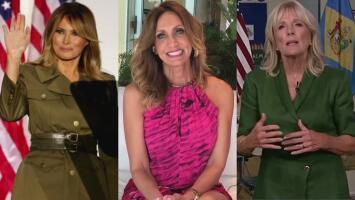"""""""Se veía preciosa"""", Lili destaca el atuendo de Melania Trump frente al de Jill Biden en las pasadas convenciones"""