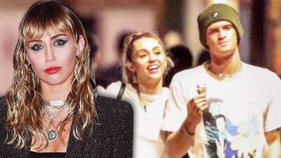 Miley Cyrus se recupera de una cirugía con Cody Simpson a su lado