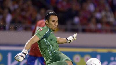 Navas vuelve a la selección de Costa Rica