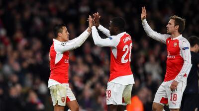 Arsenal 3-0 Dinamo Zagreb: El Arsenal golea y se jugará la clasificación en Atenas