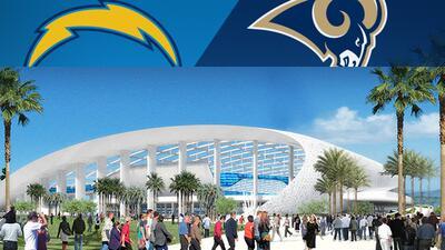 ¡NFL de vuelta en Los Angeles! Rams confirmados, Chargers con opción